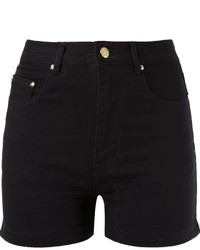 Amap High Waist Denim Shorts