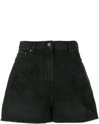 Valentino Loose Fit Denim Shorts