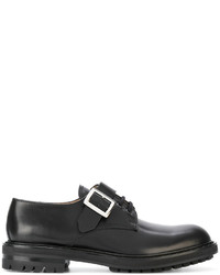 Alexander McQueen Buckled Derby Shoes