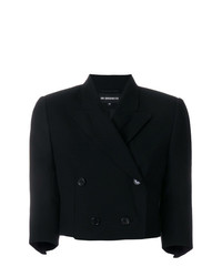 Ann Demeulemeester Cropped Double Breasted Blazer