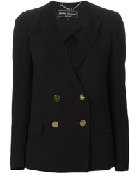 Salvatore Ferragamo Double Breasted Blazer