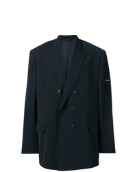 Balenciaga Oversized Double Breasted Blazer