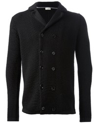Double breasted knit cardigan medium 2568