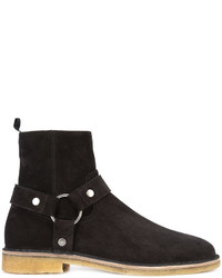 Saint Laurent Nevada 20 Harness Boots