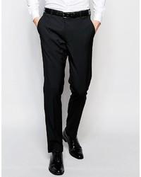 Asos Brand Skinny Tuxedo Suit Pants In Black