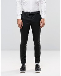 Jack and Jones Jack Jones Premium Skinny Suit Pants In Black