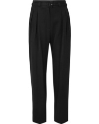 A.P.C. Atelier de Production et de Création Joan Belted Twill Straight Leg Pants