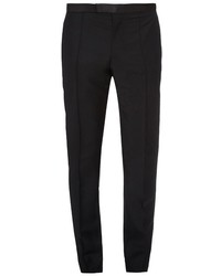 Alexander McQueen Mid Rise Wool And Mohair Blend Trousers
