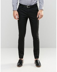 Asos Skinny Suit Pants In Black
