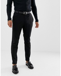 Pier One Slim Fit Trouser In Black