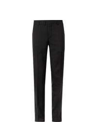 Saint Laurent Slim Fit Virgin Wool Gabardine Trousers
