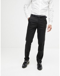 ASOS DESIGN Slim Suit Trousers In Black