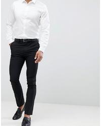 New Look Smart Skinny Trousers In Black