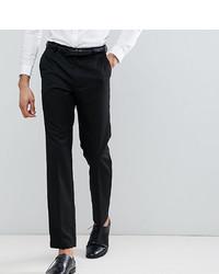 Burton Menswear Tailored Smart Trousers In Black