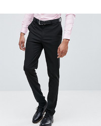 ASOS DESIGN Tall Skinny Smart Trousers In Black