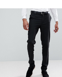 ASOS DESIGN Tall Skinny Suit Trousers In Black