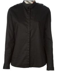 Burberry Brit Shoulder Epaulette Shirt