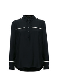 Rag & Bone Contrast Piped Shirt