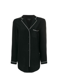 Rag & Bone Contrast Trim Shirt