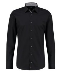 Strellson Slim Fit Formal Shirt Schwarz
