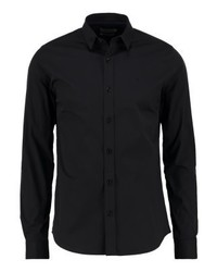 Wilbert slim fit formal shirt black medium 4160011