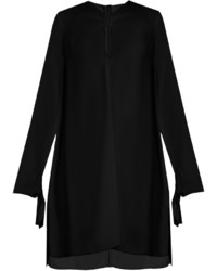 Proenza Schouler Knotted Front Crepe Dress
