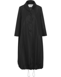 Prada Satin Trimmed Silk Taffeta Coat