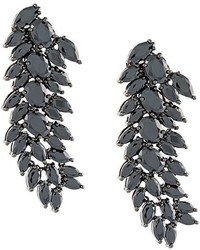 Iosselliani Black On Black Meto Clip On Earrings