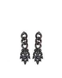 Iosselliani Black On Black Meto Earrings