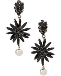 Marni Flower Chandelier Earrings