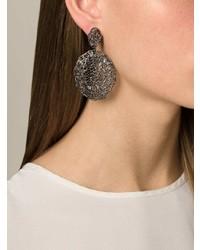 Aurelie Bidermann Vintage Lace Earrings