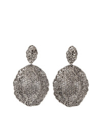 Aurelie Bidermann Vintage Lace Earrings
