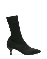 Strategia Kitten Heel Sock Boots