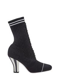 Fendi Sock Ankle Boots