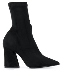 Pollini Sock Style Ankle Boots