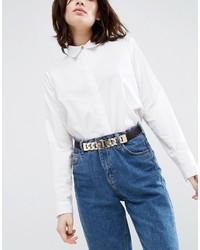 Chain detail elastic waist belt medium 962016