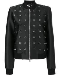 Stella McCartney Loop Embellished Bomber Jacket