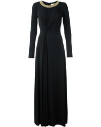 MICHAEL Michael Kors Michl Michl Kors Embellished Collar Gathered Dress