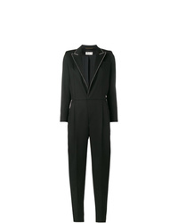 Saint Laurent Crystal Collar Jumpsuit