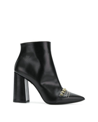 Just Cavalli Embellished Ankle Boots