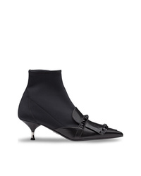 Prada Studded Sock Boots