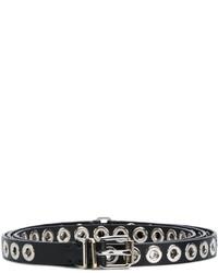 Grommet embellished skinny belt medium 4982904