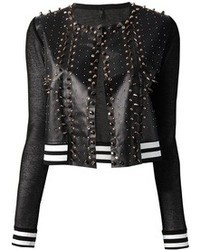 Aviu Avi Studded Leather Jacket