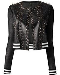Aviu Avi Studded Leather Jacket
