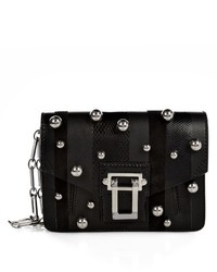 Proenza Schouler Hava Pompom And Leather Clutch
