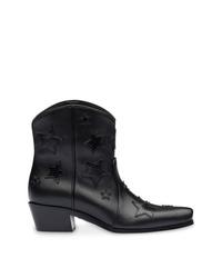 Miu Miu Star Embellished Cowboy Boots