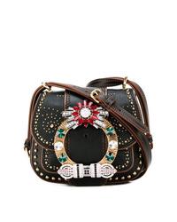 Miu Miu Embellished Shoulder Bag