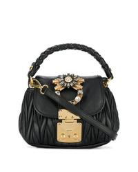 Miu Miu Mini Matelass Shoulder Bag