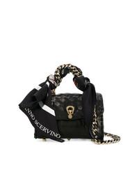Ermanno Scervino Scarf Embellished Mini Bag