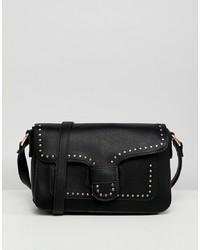Yoki Fashion Yoki Stud Trim Shoulder Bag